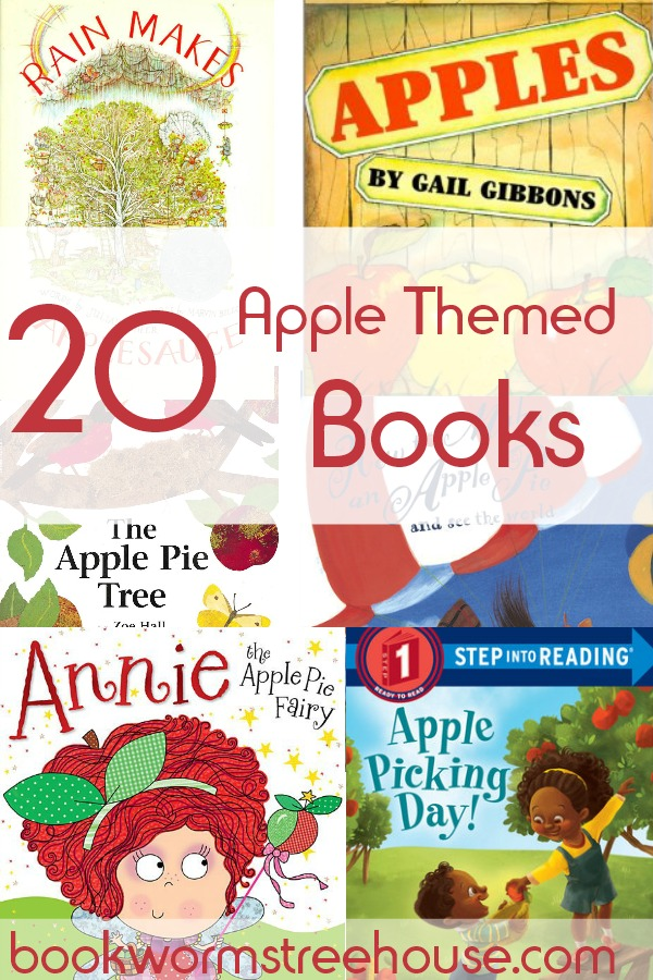 20 Apple Themed Books for Kids