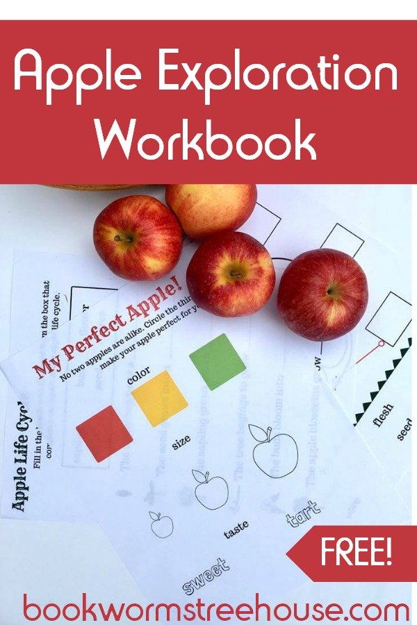 Free Printable Apple Exploration Workbook