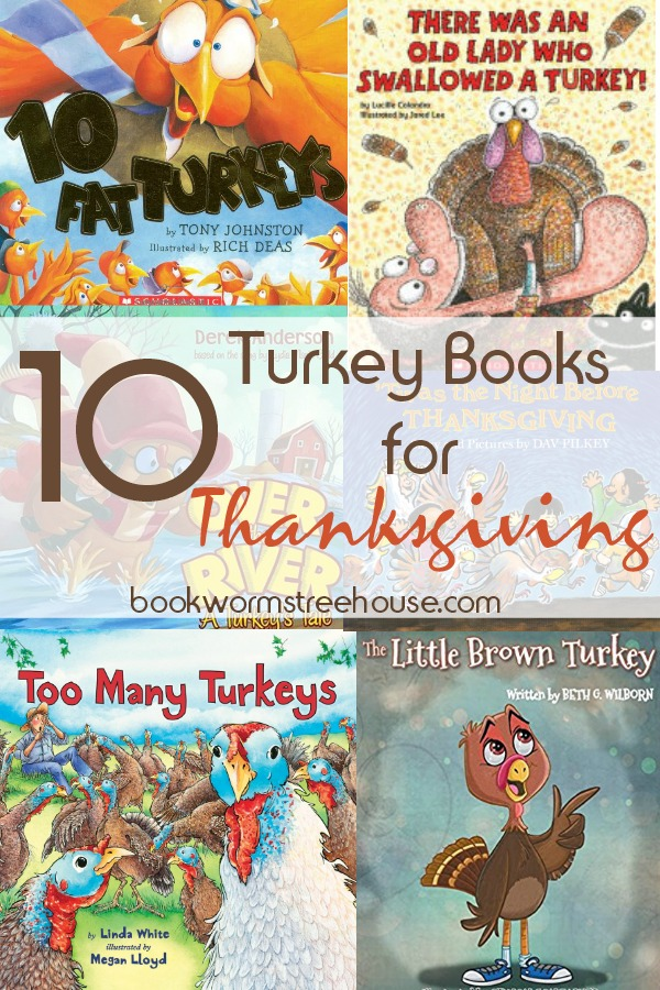 10 Turkey Books to Read for Thanksgiving