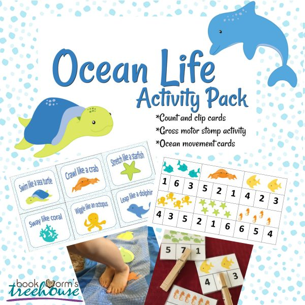 Ocean Life Printable Activity Pack